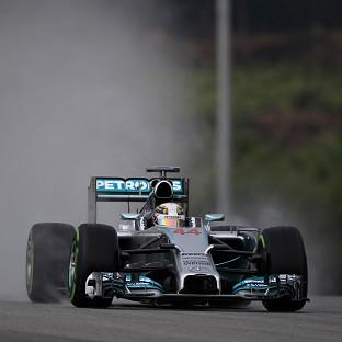 Lewis Hamilton secured his second successive pole position (AP)