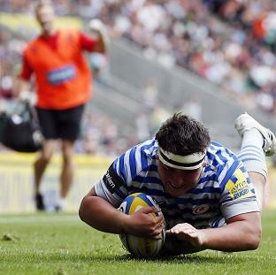 Jamie George went over for two tries for Saracens