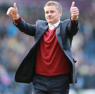 Andover Advertiser: Ole Gunnar Solskjaer was thrilled with his side's spirit as they came back to claim a potentially valuable point