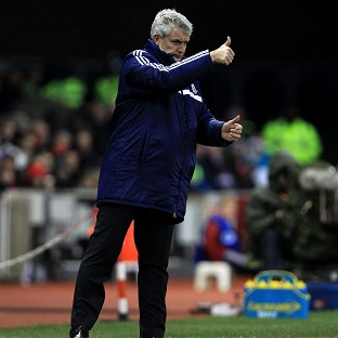 Mark Hughes' Stoke recorded their third win in a row by seeing off Hull
