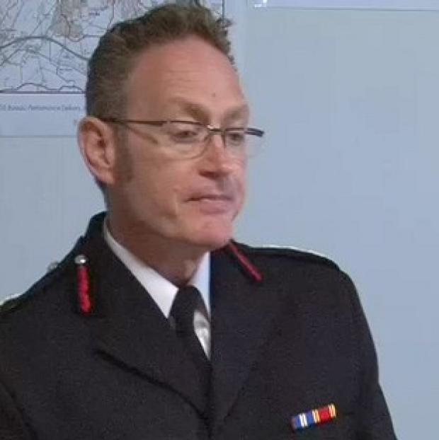 Andover Advertiser: Derbyshire Chief Fire Officer Sean Frayne has been suspended since he was charged with rape over an alleged incident dating back to 2006.