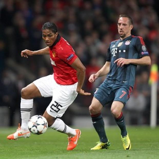 Andover Advertiser: Antonio Valencia was fortunate not to be sent off against Bayern