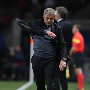 Chelsea manager Jose Mourinho was far from impressed by his side's showing as they lost to Paris St Germain