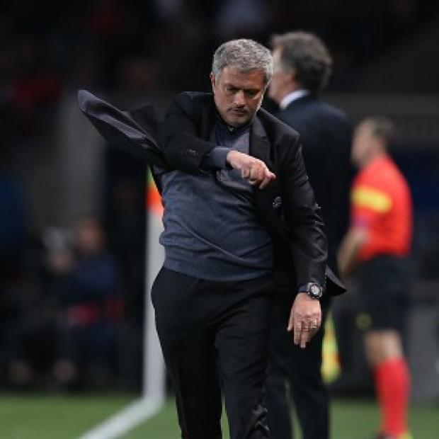 Andover Advertiser: Chelsea manager Jose Mourinho was far from impressed by his side's showing as they lost to Paris St Germain