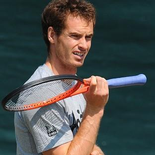 Andy Murray was reported to be suffering from a stomach bug