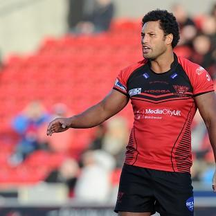 Francis Meli scored a hat-trick of tries for Salford