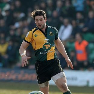 Ben Foden scored a try as Northampton Saints won at Sale Sharks in the Amlin Challenge Cup.