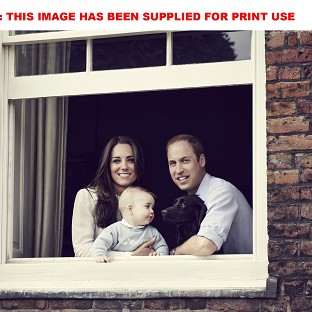 William and Kate tour with George