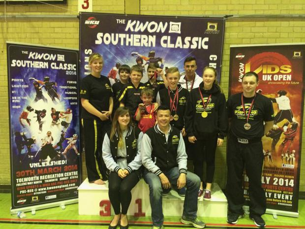 Andover Advertiser: Nine Falcons brought home eight medals from the KWON Southern Classic