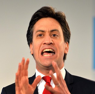 Ed Miliband is promising to