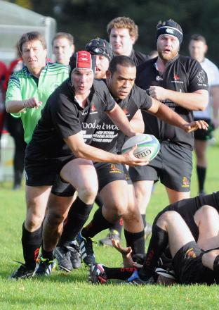 Marc Wilding is hoping to bow out on a high on Saturday for Andover RFC