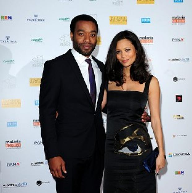 Andover Advertiser: Chiwetel Ejiofer (left) and Thandie Newton attending the premiere of Half of A Yellow Sun at the Odeon Streatham, London.