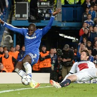 Jose Mourinho lauded Demba Ba, pictured, for his all-round performance