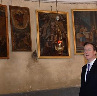 Andover Advertiser: David Cameron has reportedly spoken about religious matters as Easter approaches