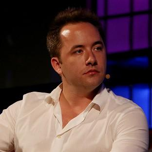 Drew Houston, founder and CEO of Dropbox, which hopes to rival Google and Apple with its new apps