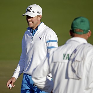 Jonas Blixt holds a share of the clubhouse lead (AP)