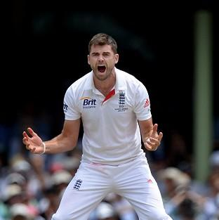 James Anderson thinks the onus i