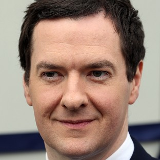 Chancellor George Osborne will hail the UK's economic recovery during a visit to the US