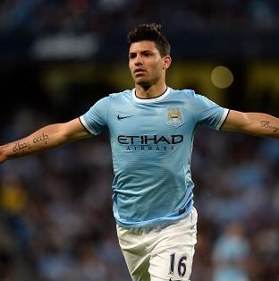 Sergio Aguero is set to make his return from injury against Liverpool
