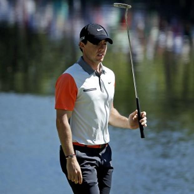 Andover Advertiser: Rory McIlroy was satisfied with his opening round but expects conditions to get tougher (AP)