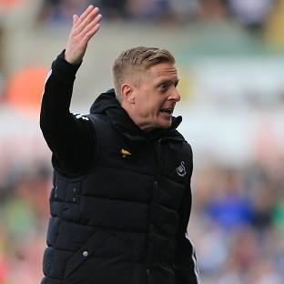 Swansea manager Garry Monk, pictured, c