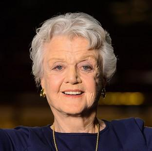 Andover Advertiser: Angela Lansbury is honoured for her long career on stage and in TV and films