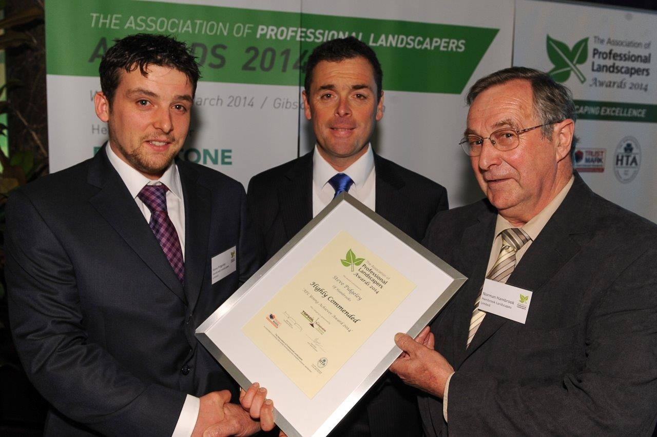 Prize for young landscaper