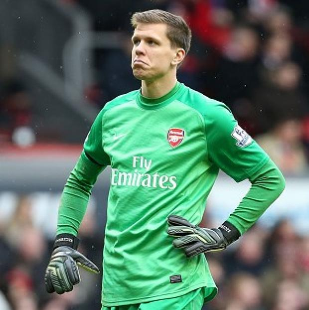 Andover Advertiser: Wojciech Szczesny is targeting the four wins Arsenal may need to clinch fourth