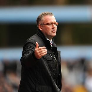 Paul Lambert has received support from Aston Villa' hierarchy