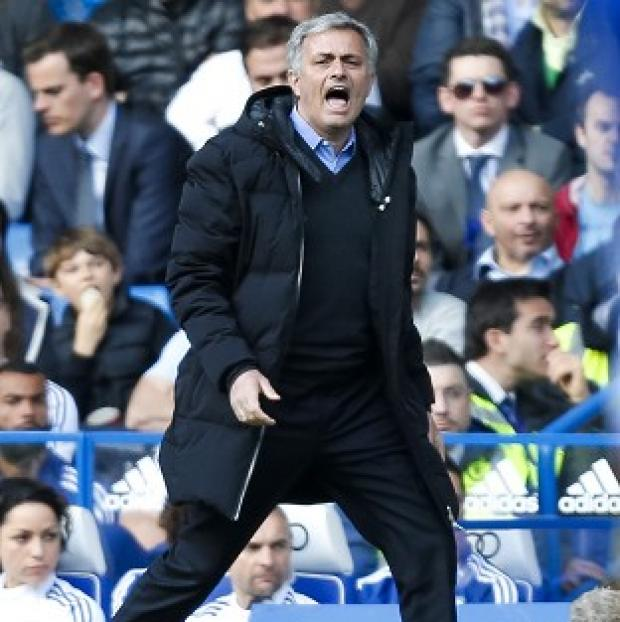 Andover Advertiser: Jose Mourinho tasted defeat in a Premier League game at Stamford Bridge for the first time on Saturday