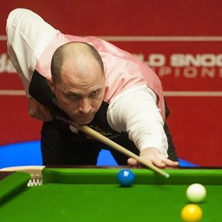 Joe Perry, pictured, will face Ronnie O'Sullivan in the second round