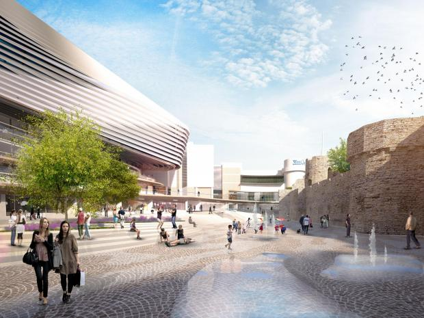 Andover Advertiser: The latest designs for the £70m Watermark scheme