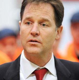 Nick Clegg is due to talk about