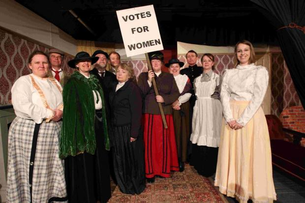 Following the success of their Christmas pantomime, Old Mother Hubbard, the London Road based amateur dramatics group are gearing up for their spring production, The Militants