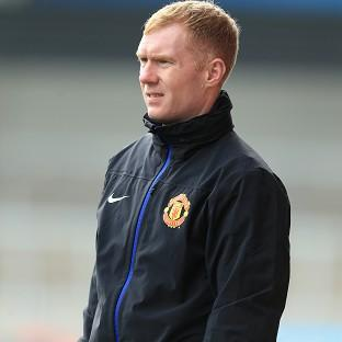 Paul Scholes, pictured, has joined Ryan Giggs' coaching team