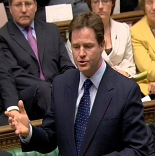 Ukip 'two-faced' on Europe - Clegg