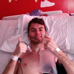 Cancer patient Stephen Sutton, 19, is no