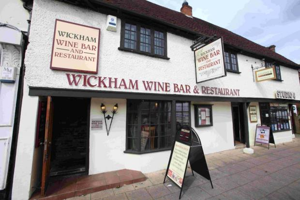 Andover Advertiser: Wickham Wine Bar proves its not just about booze
