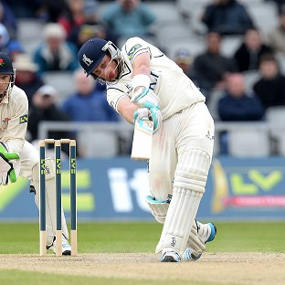 Ian Bell hit his second century of the season against Nottinghamshire