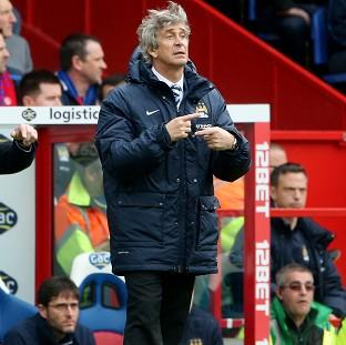 Manuel Pellegrini hailed a 'very professional performance' at Selhurst Park