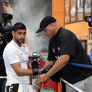 Amir Khan is ready for his fight in Las Vegas on May 3