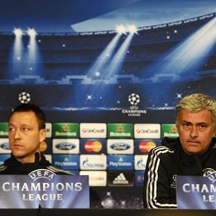 Chelsea Manager Jose Mourinho, right, has heaped praise on capta