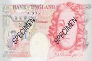 Watch out for forged £50 notes