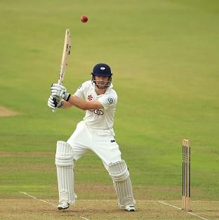 Adam Lyth reached three figures as Yorkshire took control at Chester-le-Street