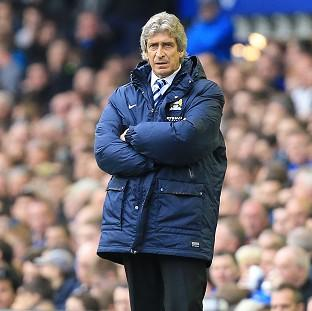Andover Advertiser: Manuel Pellegrini is confident his side can handle any title nerves