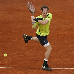 Andy Murray, pictured, overcame Nicolas Almagro 6-1 1-6 6-4 (AP)