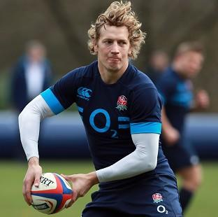 Centre Billy Twelvetrees is a doubt for England's summer tour to New Zealand with ankle damage