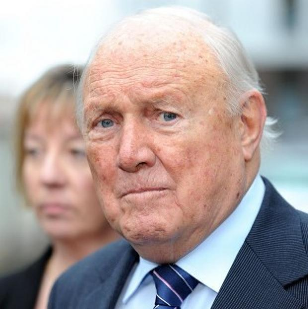 Andover Advertiser: Veteran broadcaster Stuart Hall is on trial at Preston Crown Court accused of raping two young girls