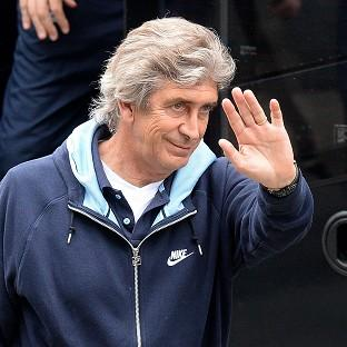Manuel Pellegrini is in a relaxed mood ahead of Manchester City's clash with West Ham