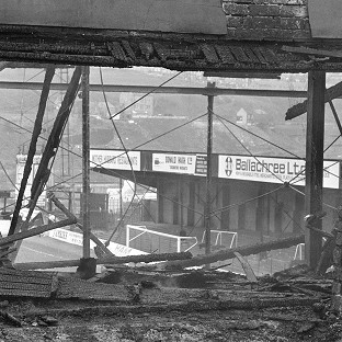 Fifty-six people died in the Bradford City fire tragedy 29 years ago
